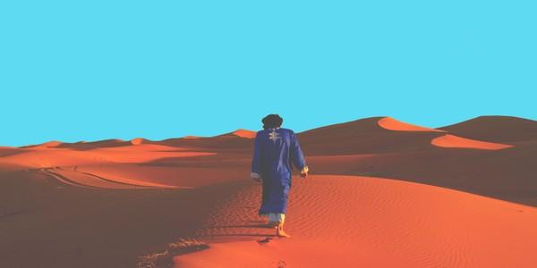 trekking au désert